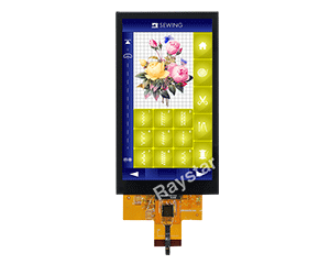 5 inch IPS, MIPI TFT LCD Display Module (PCAP)