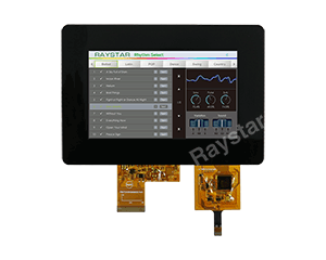 5 USB Interface Projected Capacitive Touch Screen TFT Display - RFF500B-AIW-DNB