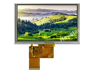 5 inch Resistive Touch Screen TFT LCD Display - RFF500B-AIW-DNS