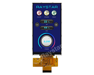 5 inch, 720x1280,  IPS, MIPI, High Brightness TFT LCD Display - RF3500D-AYH-MNN
