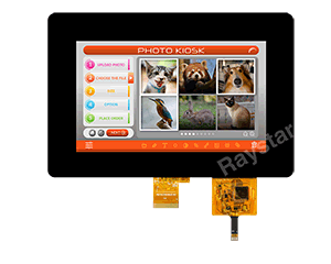 7 inch 1024x600 TFT LCD Display with PCAP