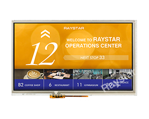 7 Resistive Touch TFT Display Panel Compatible with HDMI Interface - RFF70VA2-1IW-DHS