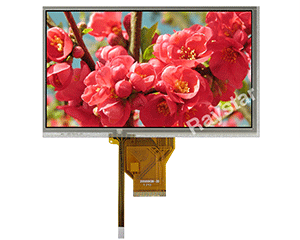 7 inch TFT LCD Touch Screen Displays - RFF700G-AZW-DNS