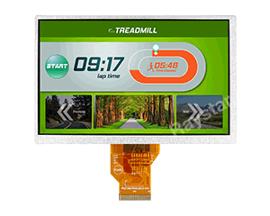 7 inch High Brightness TFT LCD Display - RFF700A2-AIH-DNN - Raystar