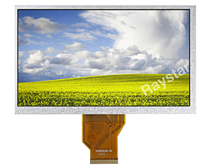7 inch High Bright TFT Display