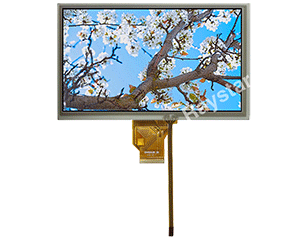 Wide Temperature TFT Resistive Touch Screen Display 8""