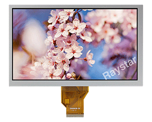 8 inch Wide Temperature TFT LCD Display - RFF80B-AIW-DNN